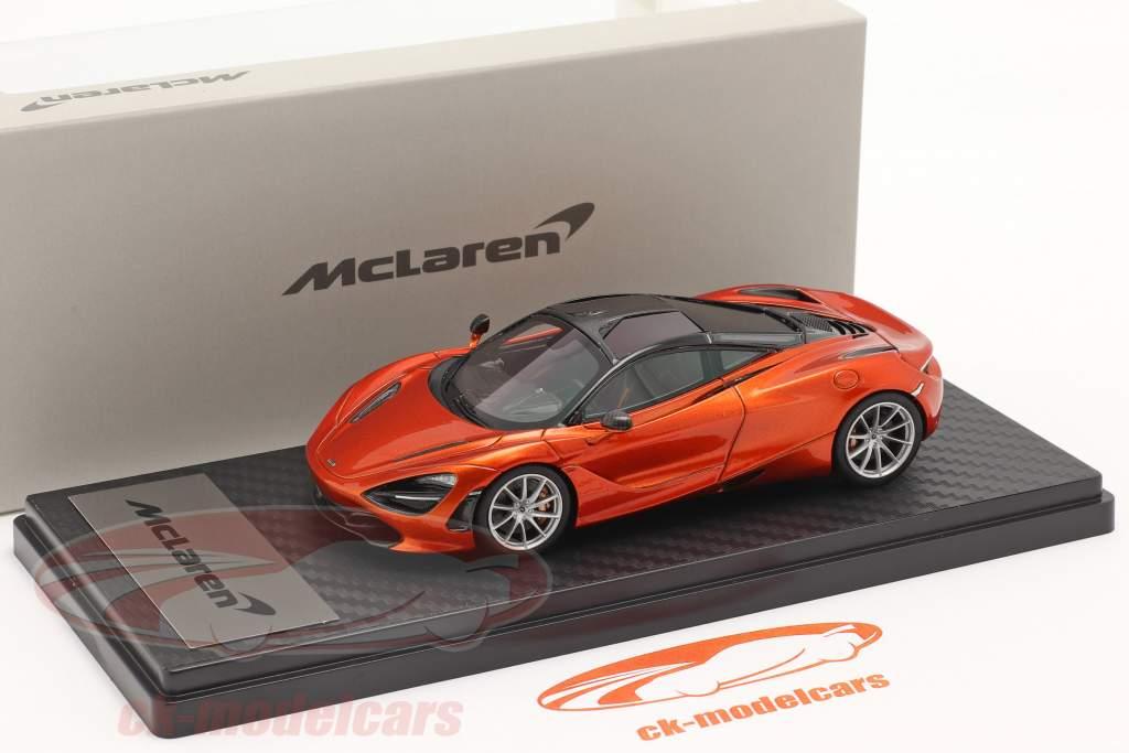 McLaren 720S (P14) Coupe Baujahr 2017 orange metallic 1:43 TrueScale