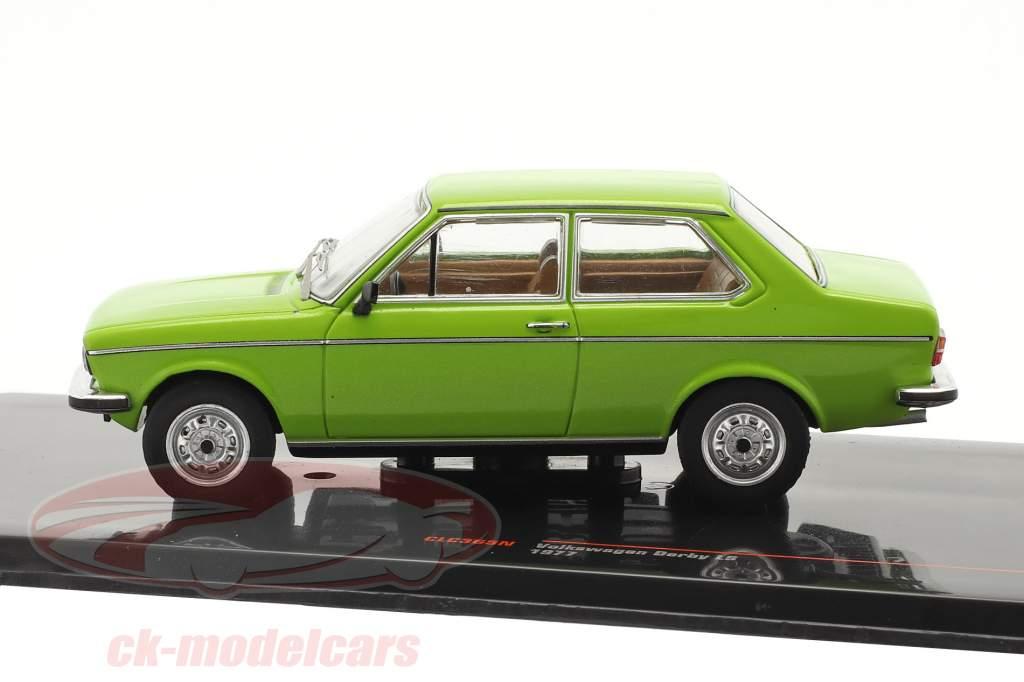 Volkswagen VW Derby LS Baujahr 1977 grün 1:43 Ixo