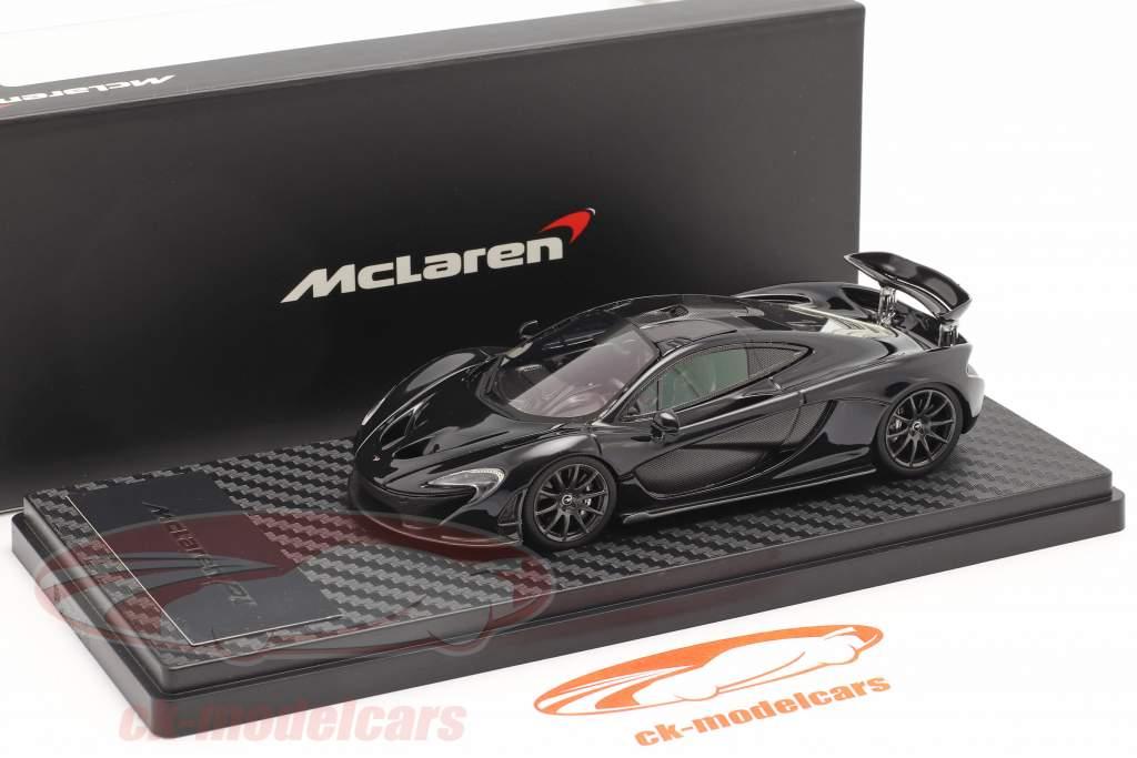 McLaren P1 Byggeår 2013-2015 ametyst sort 1:43 TrueScale