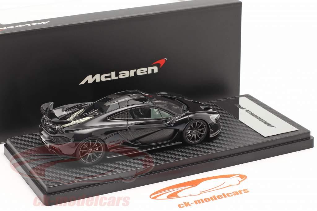 McLaren P1 Ano de construção 2013-2015 ametista Preto 1:43 TrueScale