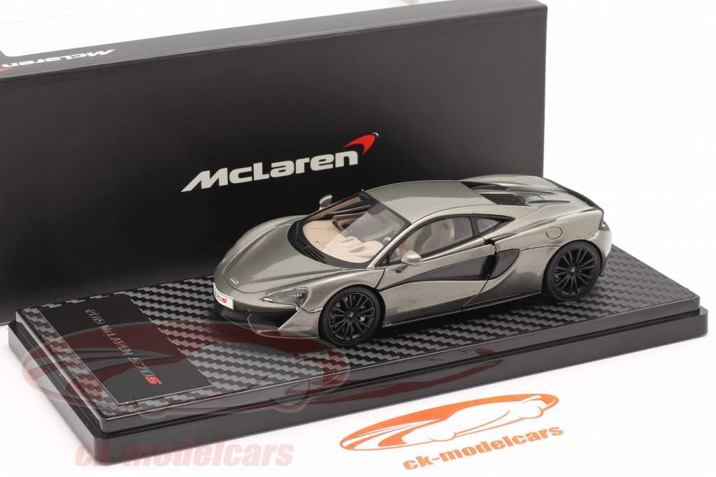McLaren 570S Coupe Bouwjaar 2015 zilver metalen 1:43 TrueScale
