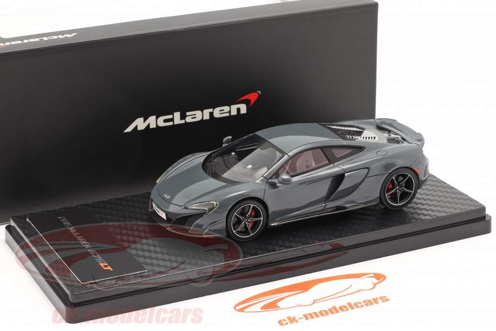 McLaren 675LT Bouwjaar 2015 chicane Grijs 1:43 TrueScale