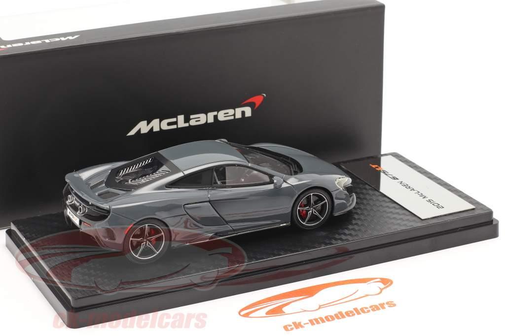 McLaren 675LT Ano de construção 2015 chicane cinza 1:43 TrueScale