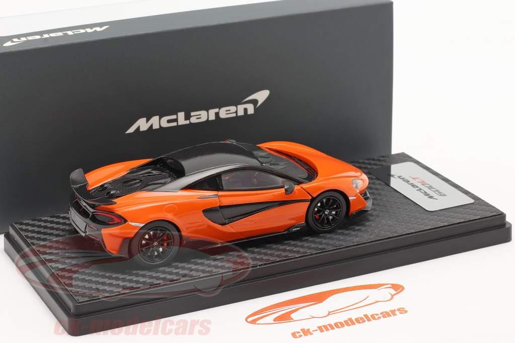 McLaren 600LT Coupe Byggeår 2018 myan orange 1:43 TrueScale