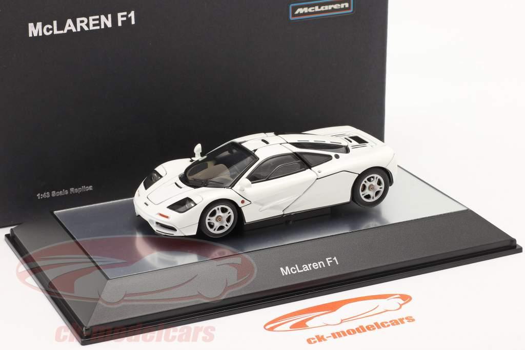 McLaren F1 Road Car 1993-97 hvid 1:43 AUTOart