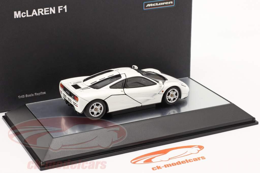 McLaren F1 Road Car 1993-97 blanc 1:43 AUTOart