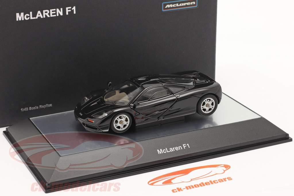 McLaren F1 1993-97 black metallic 1:43 AUTOart