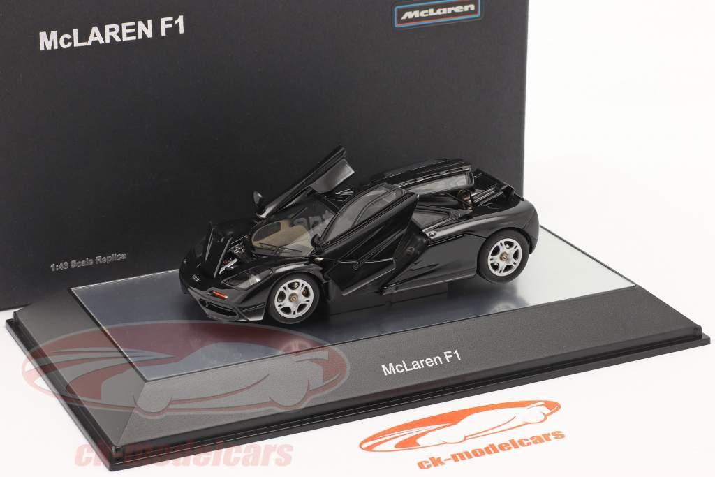 McLaren F1 1993-97 Preto metálico 1:43 AUTOart