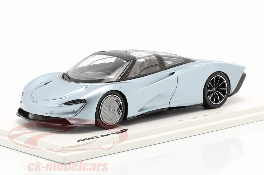 McLaren Speedtail Année de construction 2019 liquid crystal 1:43 Spark