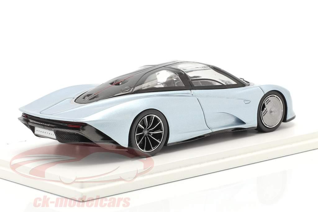 McLaren Speedtail Bouwjaar 2019 liquid crystal 1:43 Spark