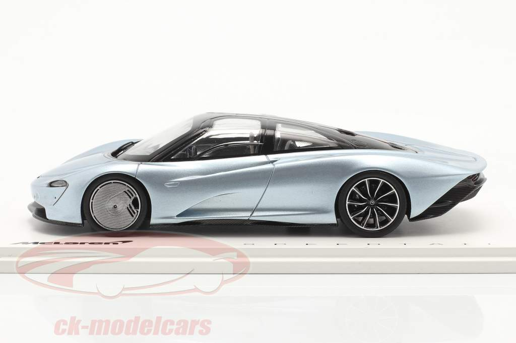 McLaren Speedtail Ano de construção 2019 liquid crystal 1:43 Spark
