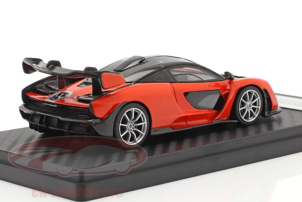McLaren Senna Anno di costruzione 2018 mira arancia 1:43 TrueScale