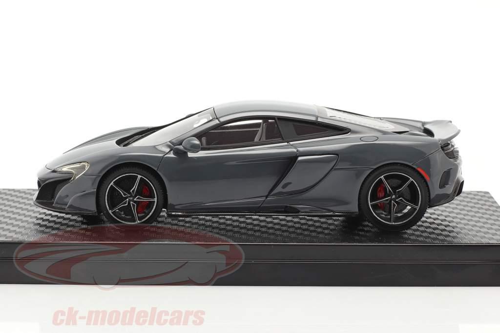 McLaren 675LT Año de construcción 2015 chicane gris 1:43 TrueScale