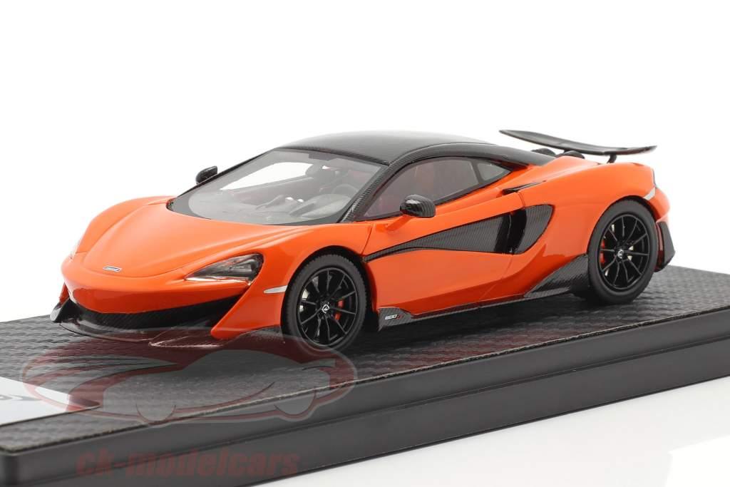 McLaren 600LT Coupe Ano de construção 2018 myan laranja 1:43 TrueScale