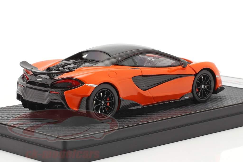 McLaren 600LT Coupe Baujahr 2018 myan orange 1:43 TrueScale
