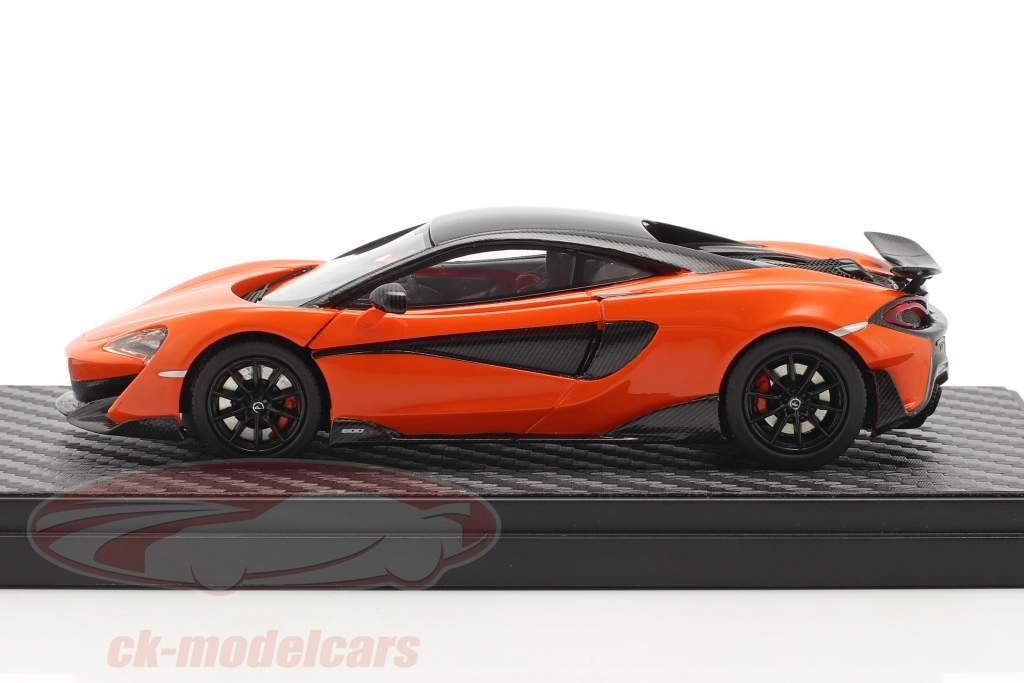 McLaren 600LT Coupe Anno di costruzione 2018 myan arancia 1:43 TrueScale