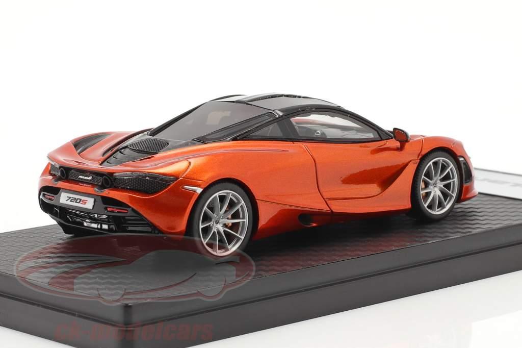 McLaren 720S (P14) Coupe Bouwjaar 2017 oranje metalen 1:43 TrueScale