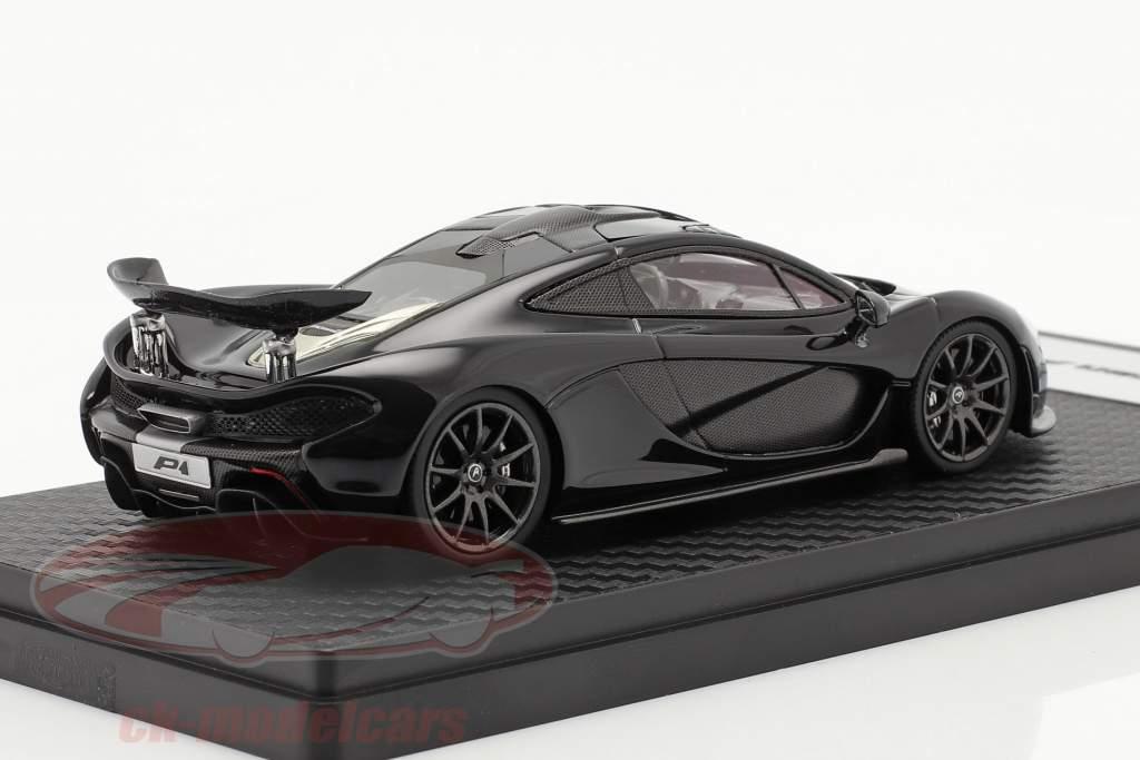 McLaren P1 year 2013-2015 amethyst black 1:43 TrueScale