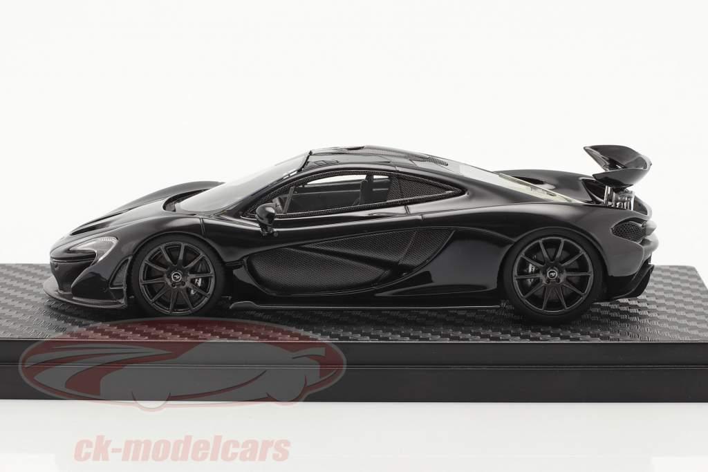 McLaren P1 Bouwjaar 2013-2015 amethist zwart 1:43 TrueScale