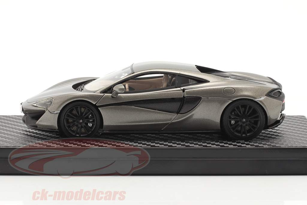 McLaren 570S Coupe year 2015 silver metallic 1:43 TrueScale