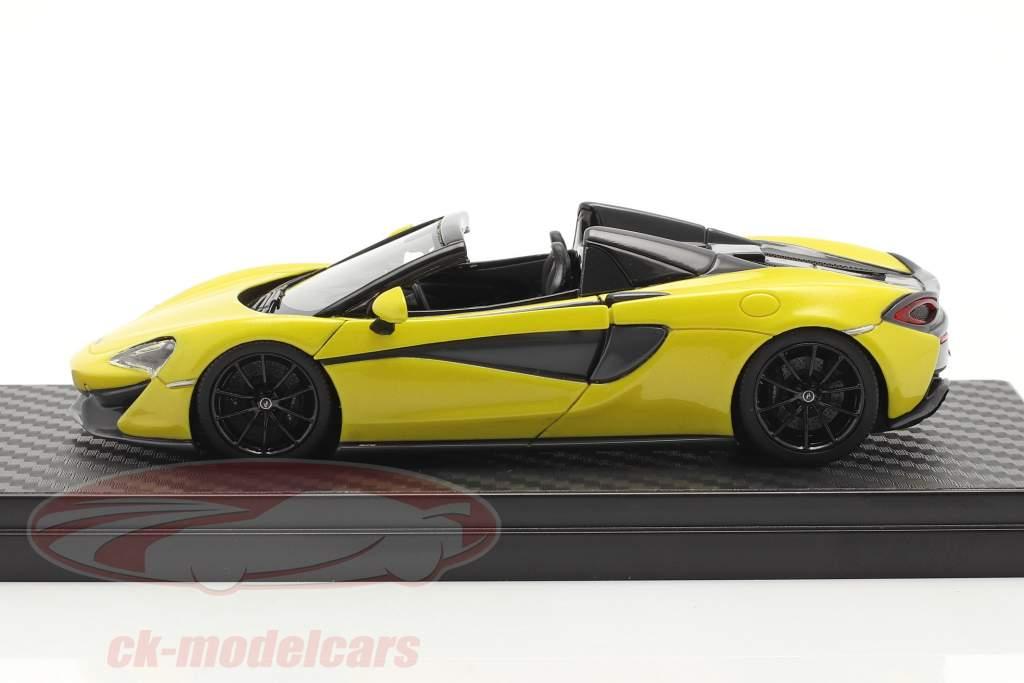 McLaren 570S Spider Bouwjaar 2017 sicilian geel 1:43 TrueScale