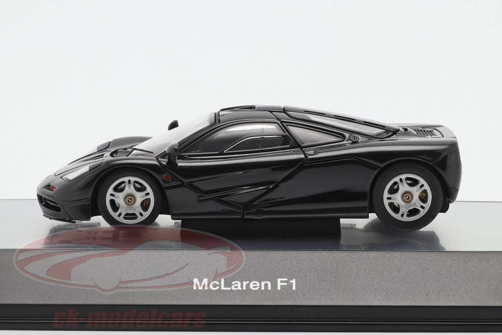McLaren F1 1993-97 sort metallisk 1:43 AUTOart
