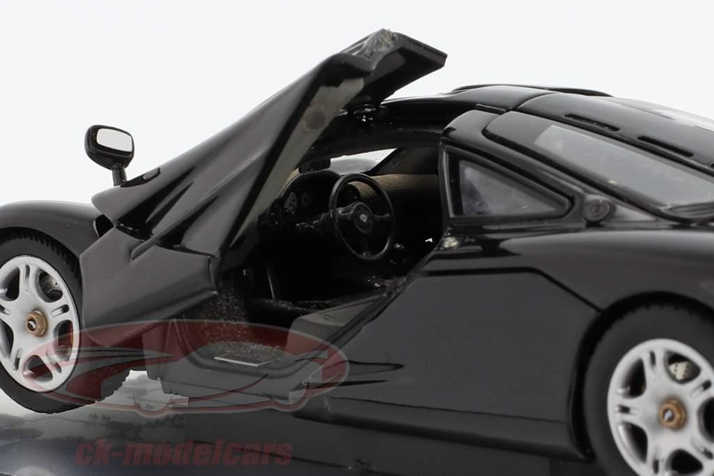McLaren F1 1993-97 nero metallico 1:43 AUTOart