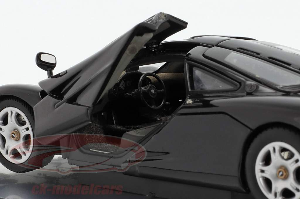 McLaren F1 1993-97 noir métallique 1:43 AUTOart