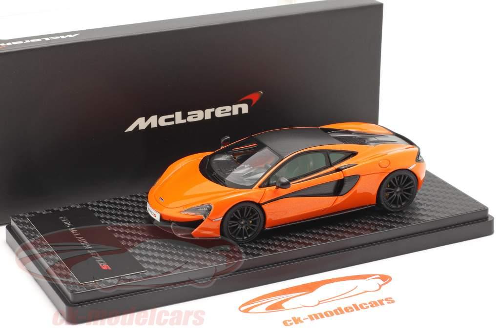 McLaren 570S Coupe Byggeår 2015 ventura orange 1:43 TrueScale