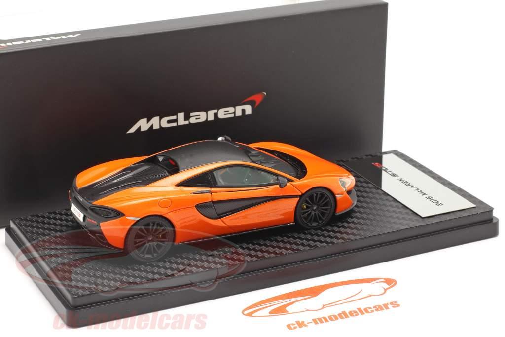McLaren 570S Coupe Anno di costruzione 2015 ventura arancia 1:43 TrueScale