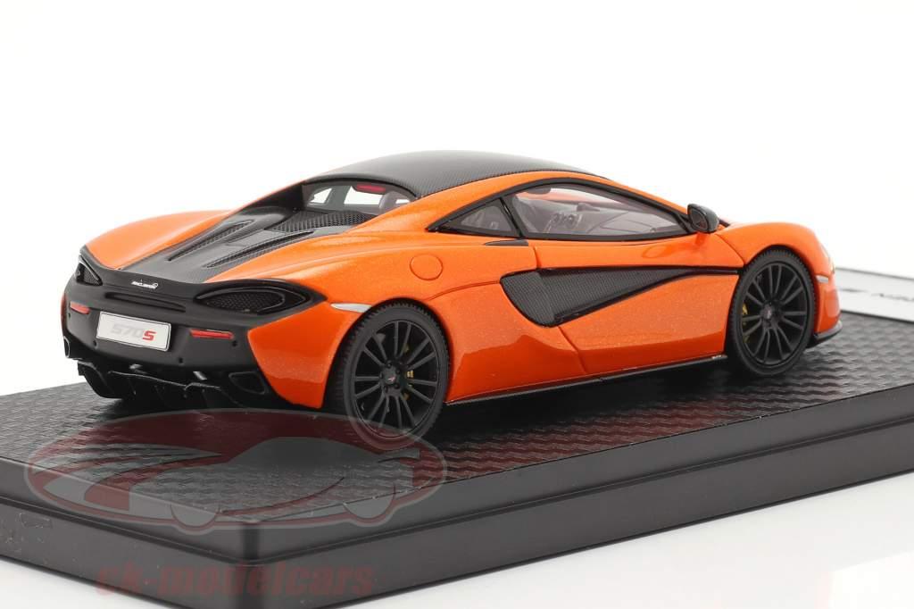 McLaren 570S Coupe Baujahr 2015 ventura orange 1:43 TrueScale