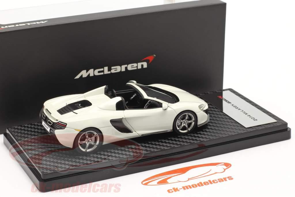 McLaren 650S Spider Année de construction 2014 blanc 1:43 TrueScale