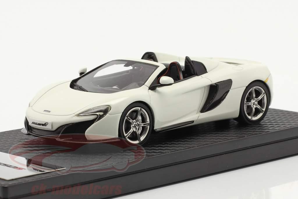 McLaren 650S Spider Baujahr 2014 weiß 1:43 TrueScale
