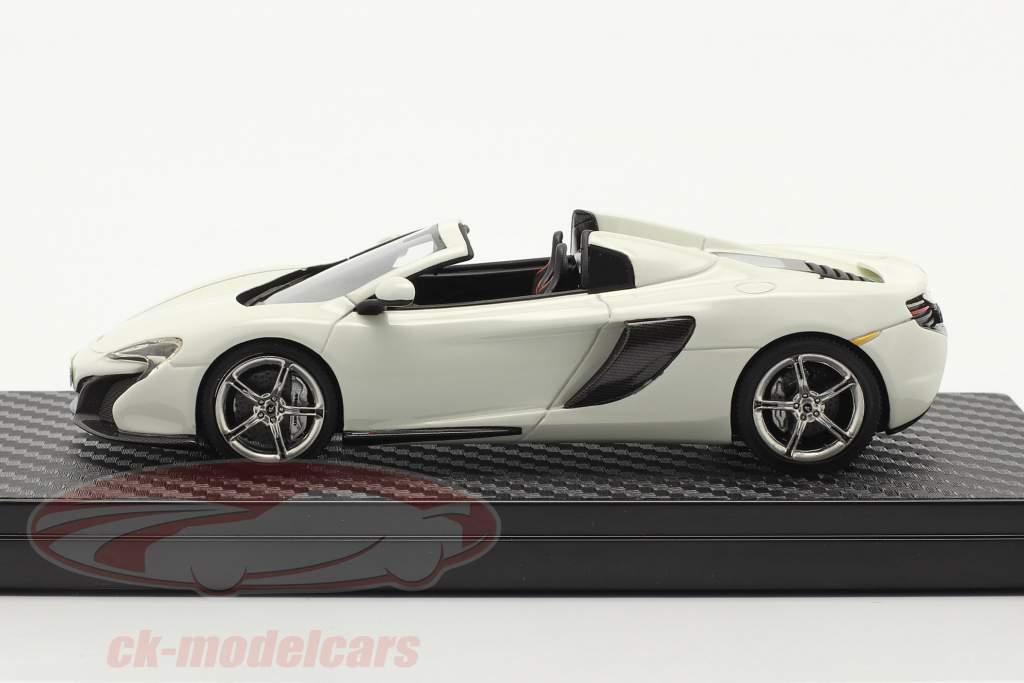 McLaren 650S Spider Año de construcción 2014 blanco 1:43 TrueScale