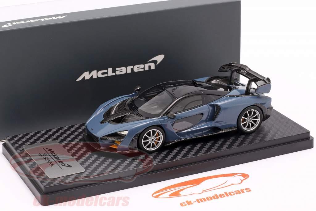 McLaren Senna bygget i 2018 sejrgrå 1:43 TrueScale