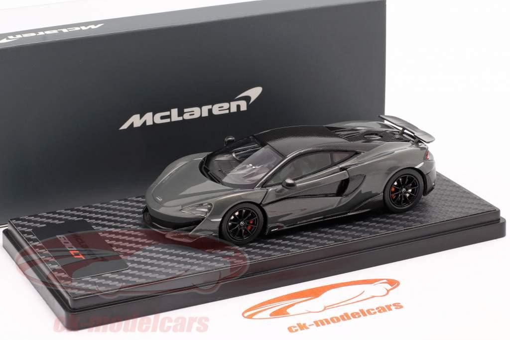 McLaren 600LT Coupe Byggeår 2018 chicane Grå 1:43 TrueScale