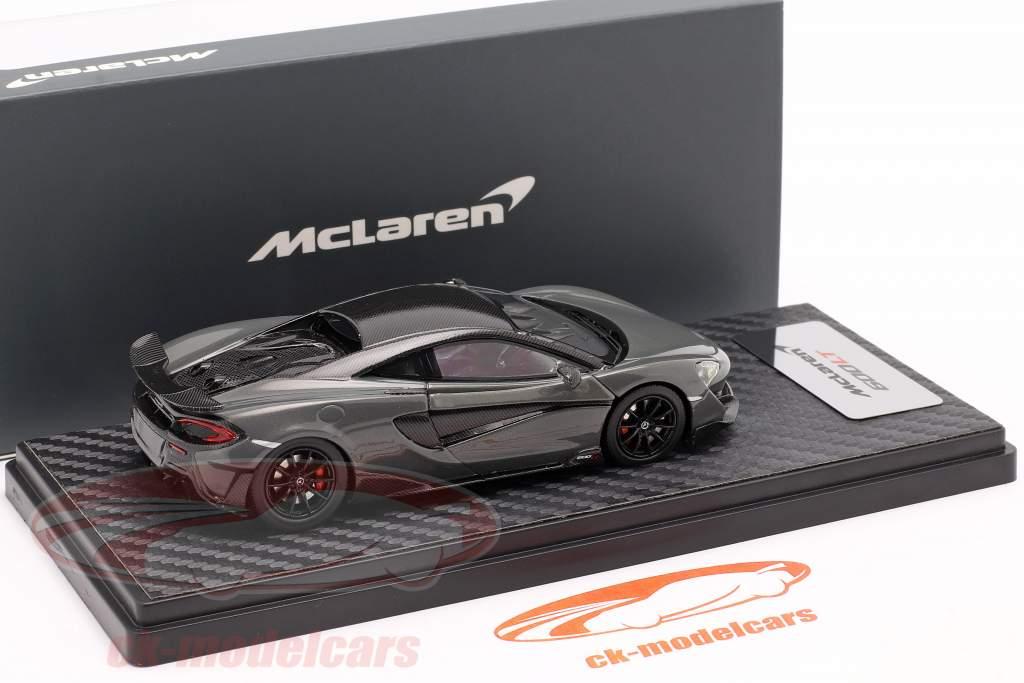 McLaren 600LT Coupe Année de construction 2018 chicane gris 1:43 TrueScale