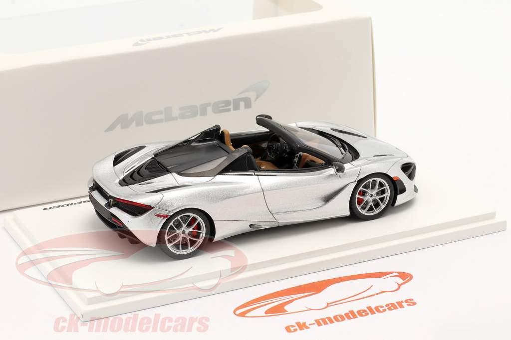 McLaren 720S Spider Année de construction 2019 supernova argent 1:43 Spark