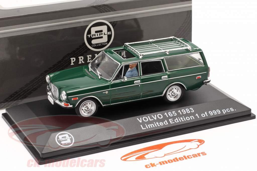Volvo 165 Año de construcción 1983 verde oscuro 1:43 Triple9