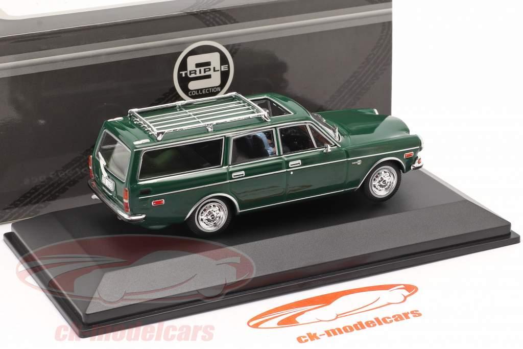 Volvo 165 Bouwjaar 1983 donkergroen 1:43 Triple9