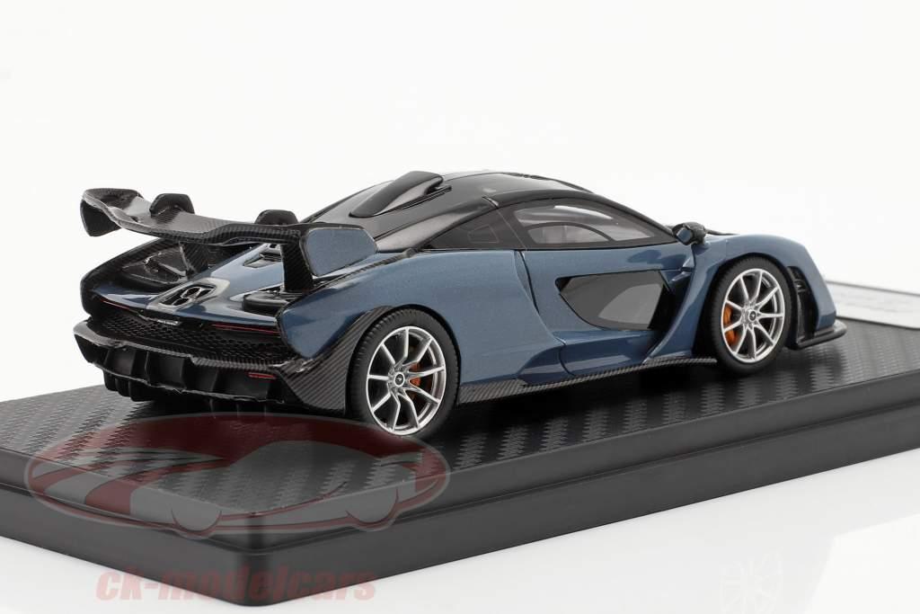 McLaren Senna construido en 2018 Victory Grey 1:43 TrueScale