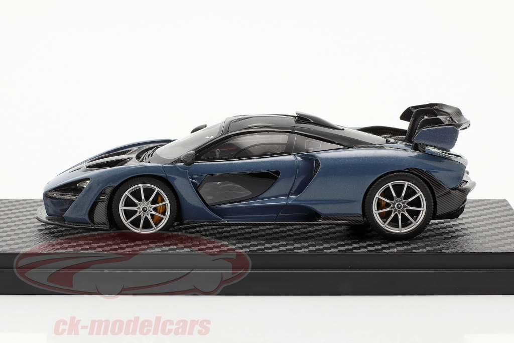 McLaren Senna construit en 2018 victoire gris 1:43 TrueScale