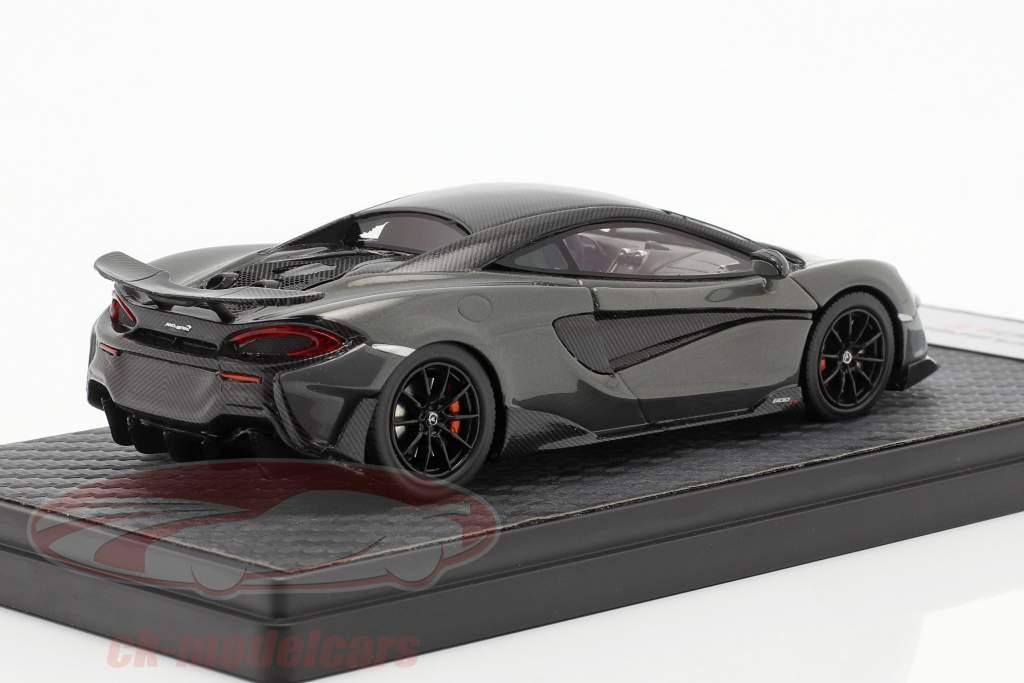 McLaren 600LT Coupe Ano de construção 2018 chicane cinza 1:43 TrueScale
