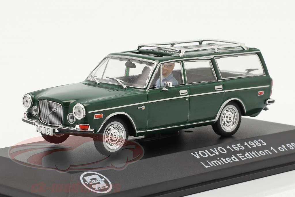Volvo 165 Ano de construção 1983 verde escuro 1:43 Triple9