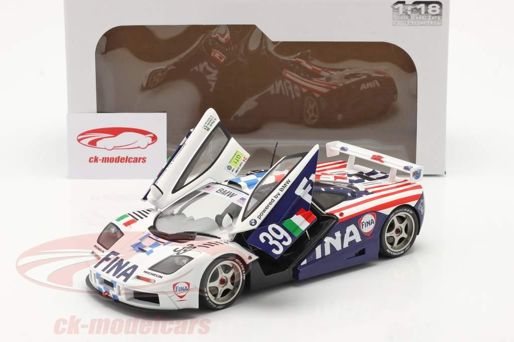 McLaren F1 GTR #39 第八名 24h LeMans 1996 Piquet, Cecotto, Sullivan 1:18 Solido