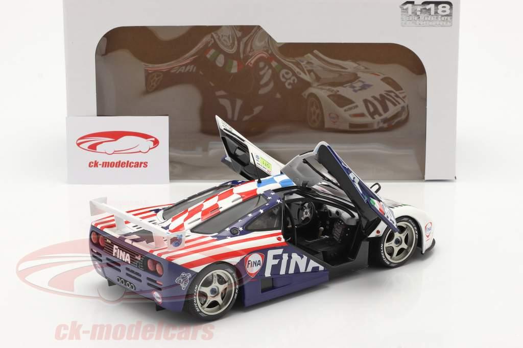 McLaren F1 GTR #39 8日 24h LeMans 1996 Piquet, Cecotto, Sullivan 1:18 Solido