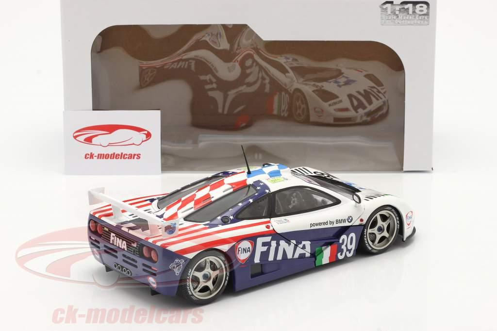 McLaren F1 GTR #39 8e 24h LeMans 1996 Piquet, Cecotto, Sullivan 1:18 Solido