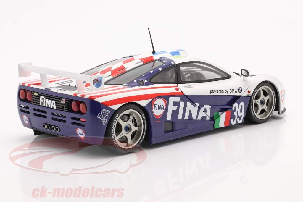 McLaren F1 GTR #39 Octavo 24h LeMans 1996 Piquet, Cecotto, Sullivan 1:18 Solido