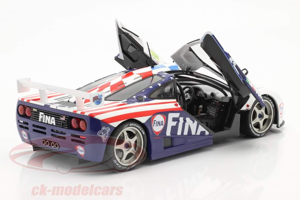 McLaren F1 GTR #39 8th 24h LeMans 1996 Piquet, Cecotto, Sullivan 1:18 Solido