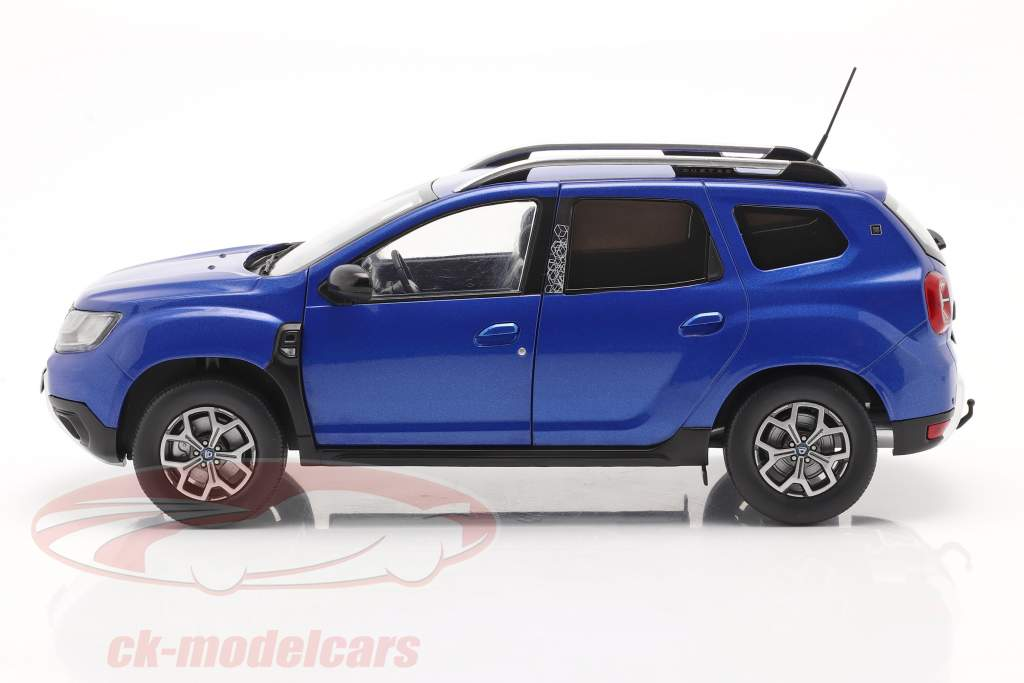 Dacia Duster MK II Année de construction 2018 cosmos bleu métallique 1:18 Solido